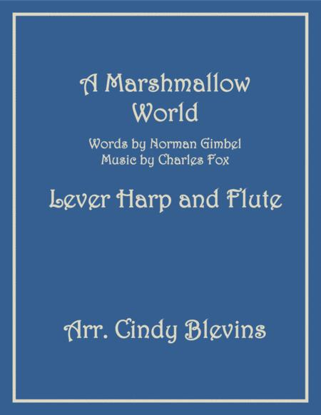 A Marshmallow World, arranged for Lever Harp and Flute