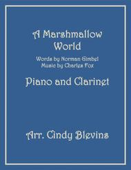 A Marshmallow World, arranged for Piano and Bb Clarinet