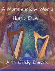 A Marshmallow World, arranged for Harp Duet