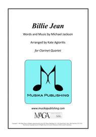 Billie Jean - for Clarinet Quartet