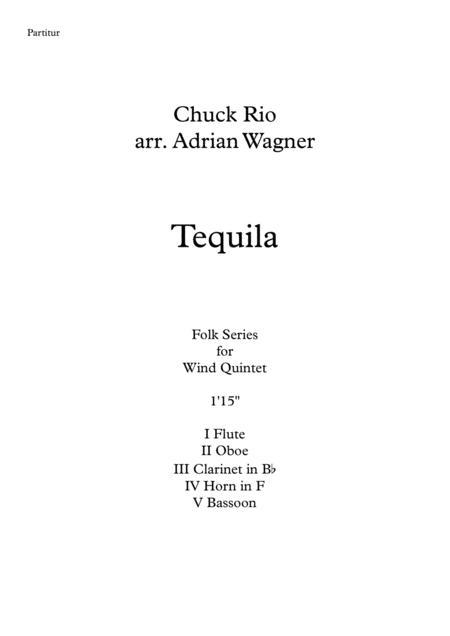 Tequila (Wind Quintet) arr. Adrian Wagner