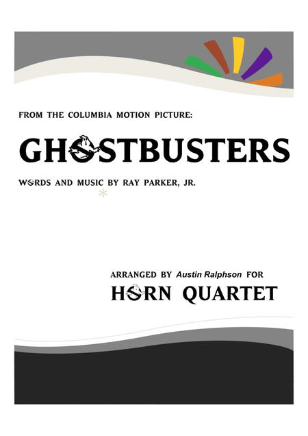 Ghostbusters - horn quartet
