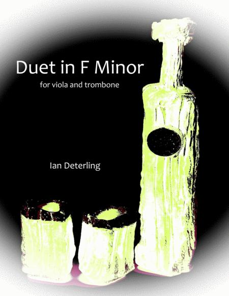 Duet in F Minor (for Viola and Trombone)