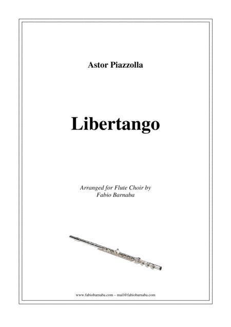 Libertango - for Flute Choir