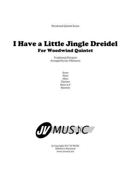 I Have a Little Jingle Dreidel for Woodwind Quintet