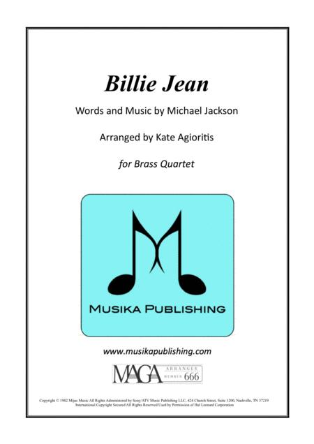 Billie Jean - Brass Quartet