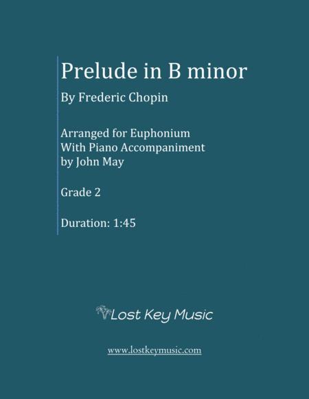 Prelude in B minor-Euphonium Solo with Piano Accompaniment