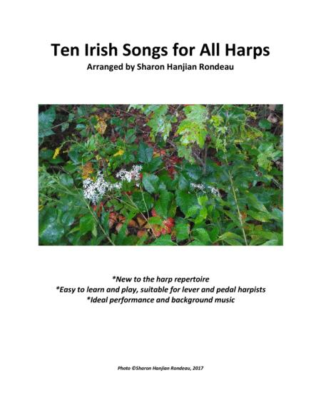 Ten Irish Songs for All Harps