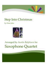 Step Into Christmas - sax quartet