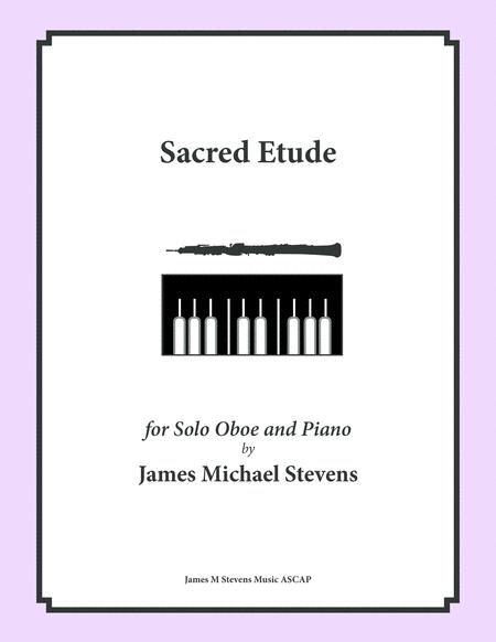 Sacred Etude - Oboe & Piano