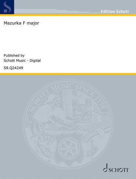 Mazurka F major