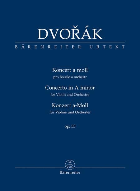 Konzert fur Violine und Orchester a-Moll op. 53