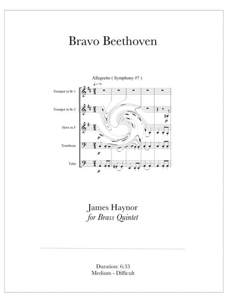 Bravo Beethoven for Brass Quintet