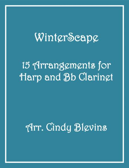 WinterScape, 15 arrangements for Piano and Bb Clarinet