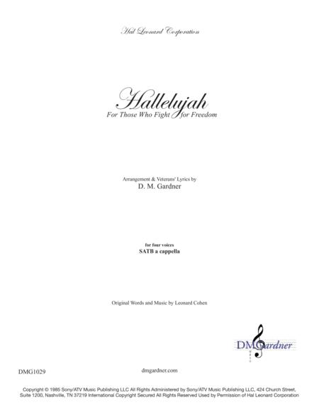 Hallelujah (Leonard Cohen) - A Tribute to Veterans (SATB)