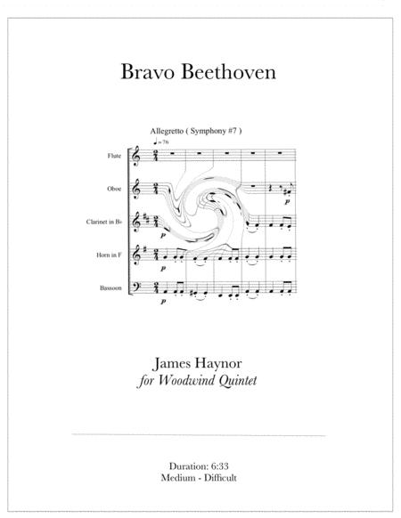 Bravo Beethoven for Woodwind Quintet