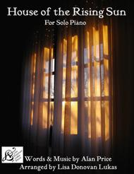 The House Of The Rising Sun - for Solo Piano
