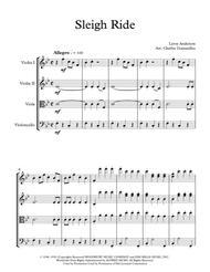 Sleigh Ride - String Quartet - Christmas Fun