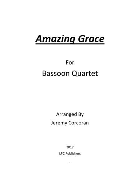Amazing Grace for Bassoon Quartet