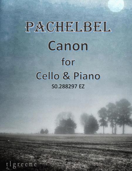 Pachelbel: Canon for Cello & Piano Easy Version