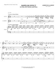 DOPPLER EFFECT for Flute, Bb Clarinet, and Piano