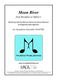 Moon River - for Saxophone Ensemble