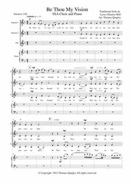 Download Be Thou My Vision Sheet Music By Irish Traditional