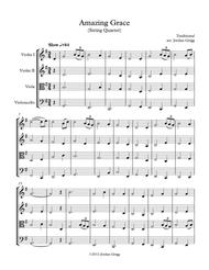 Amazing Grace (String Quartet)