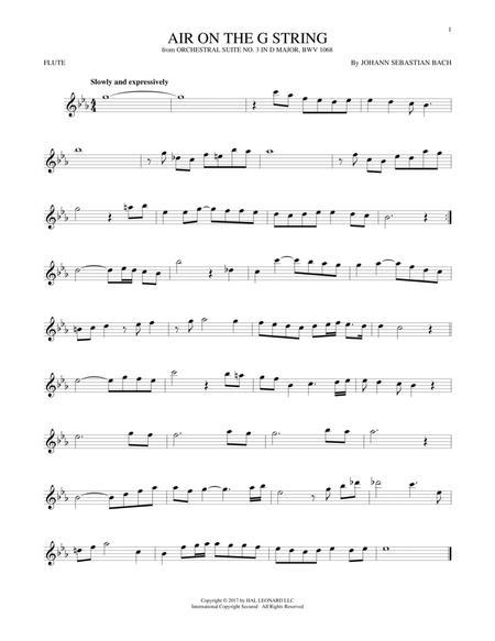 Air (Air On The G String)