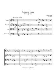 Autumn Love (string quartet)