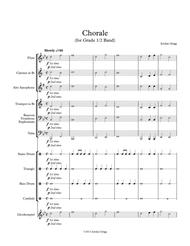 Chorale (for Grade 0.5 Band)