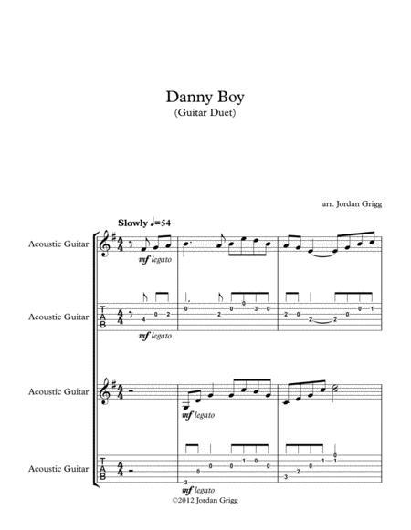 Danny Boy (Guitar Duet)