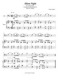 Silent Night for Cello & Piano