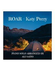 Easy piano solo ROAR by Katy Perry - Aki Saito's piano arrangement