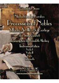 "Rimsky-Korsakov – ""Procession of Nobles"" from Mlada (for String Quartet)"