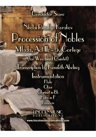 """Rimsky-Korsakov – """"Procession of Nobles"""" from Mlada (for Woodwind Quintet)"""