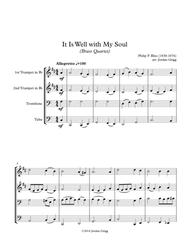 It Is Well with My Soul (Brass Quartet)