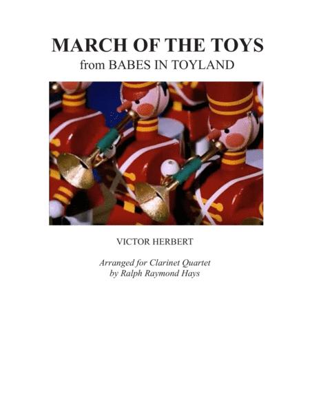 March of the Toys (for clarinet quartet)