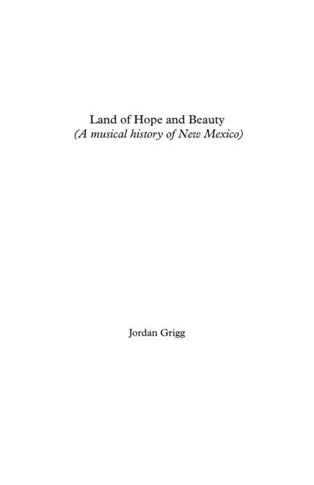 Land of Hope and Beauty for large symphonic band Full Score