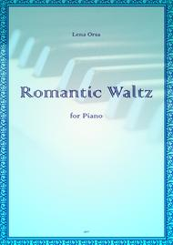 The Romantic Waltz for piano