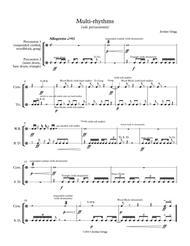 Multi-rhythms (solo percussionist)