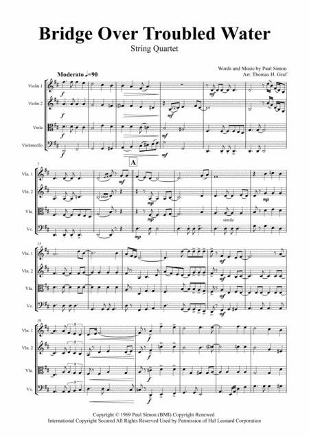 Bridge Over Troubled Water - Simon&Garfunkel - String Quartet