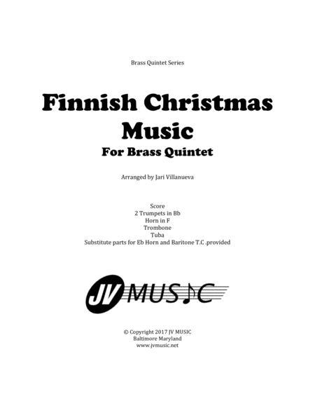 Finnish Christmas Music For Brass Quintet