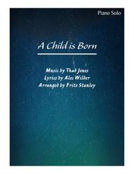 A Child Is Born - Piano Solo