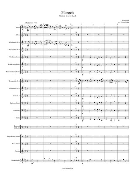 Pibroch (Grade 2 Concert Band)