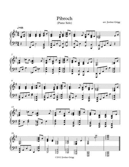 Pibroch (Piano)