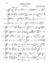 Chantez à Dieu for wind quartet
