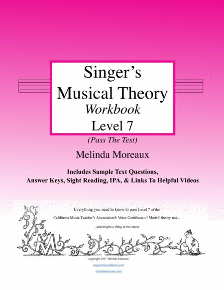 Singer's Musical Theory, Level 7