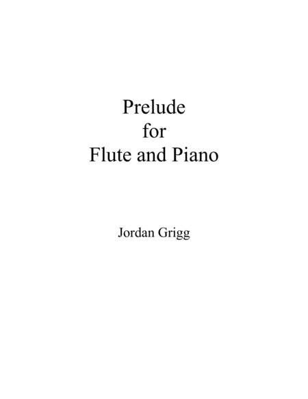 Prelude for Flute and Piano