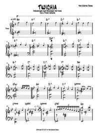 TWISHIA 1 for PIANO